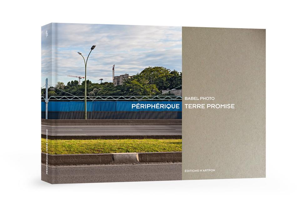 """Couverture du livre """"p Périphérique, terre promise"""""""
